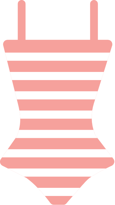 Striped Bathing Suit