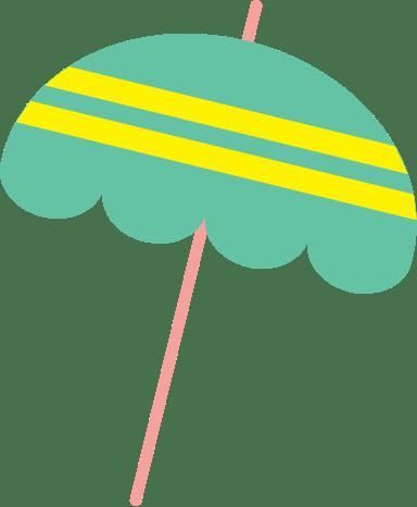 Frilly Sun Umbrella