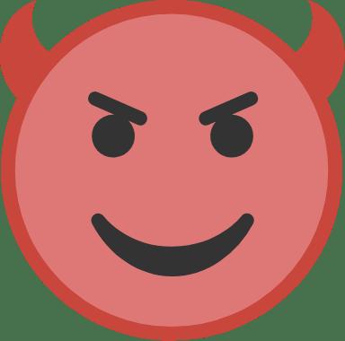 Red Devil Face