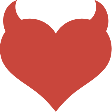 Solid Horned Heart