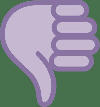 Thumbs Down Hand