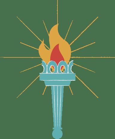 Lady Liberty Torch