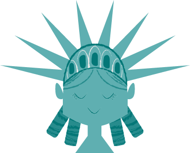 Lady Liberty Head