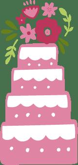 Wedding Cake 4-Tier