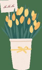 Kisses Flower Bouquet
