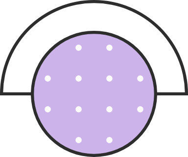 Top Capped Circle