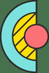 Half Circle & Dot