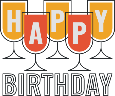 Happy Birthday Cups