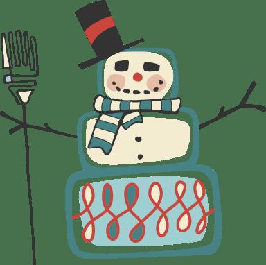 Blocky Snowman