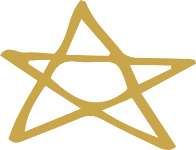 Wide Five-Pointed Star
