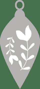 Nordic Leaf Ornament