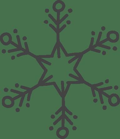 Nordic Dot Snowflake
