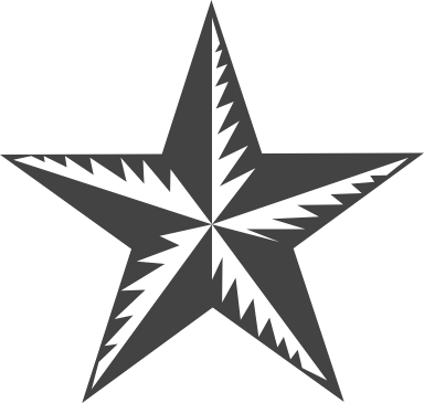 Nordic 5-Pointed Star