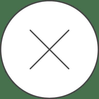 X Mark Notification