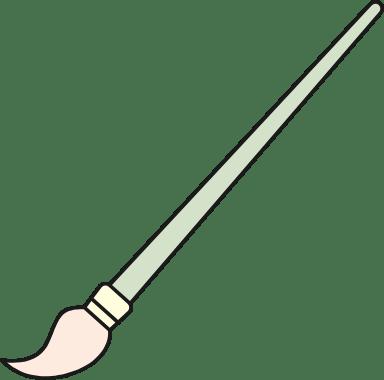 Long Paintbrush