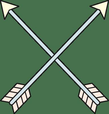 Crossed Arrows