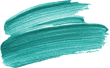 Repeated Teal Stroke
