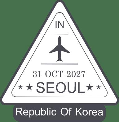 Korea Stamp
