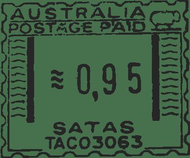 Australia Postage