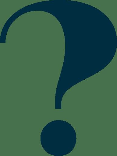 Chunky Question Mark