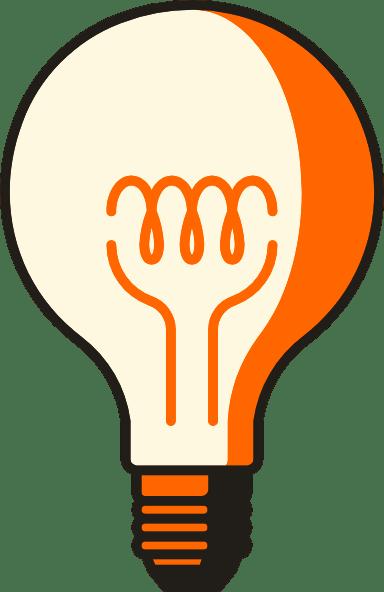 Retro Lightbulb