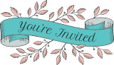 You're Invited Banner