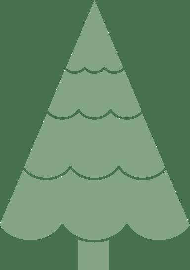 Festooned X-Mas Tree