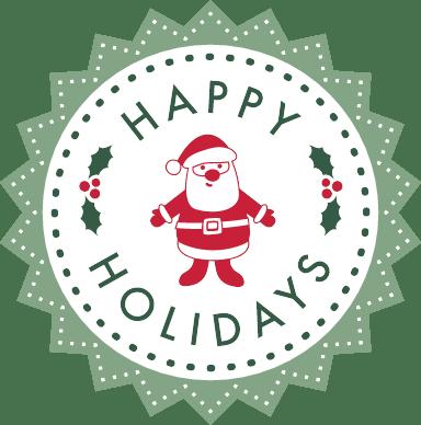Holidays Badge