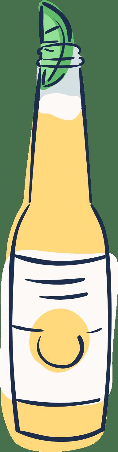 Beer Bottle & Lime
