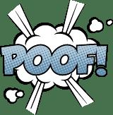 Cartoon Poof!