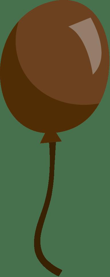Matte Brown Balloon