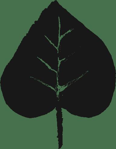 Painted Birch Leaf