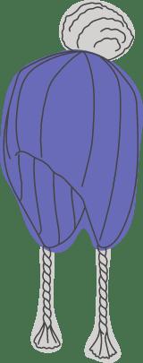 Knitted Ski Hat