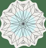 Crinkled Snowflake