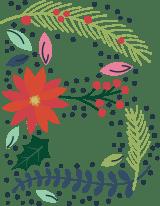 """Floral Letter """"B"""""""