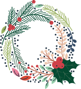 """Floral Letter """"Q"""""""