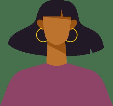 Hoop Earring Woman