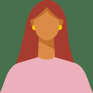 Straight Hair Woman