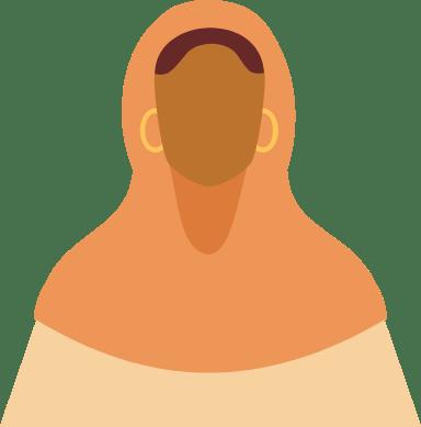 Hijab & Earrings