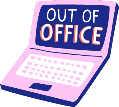 Out of Office Laptop