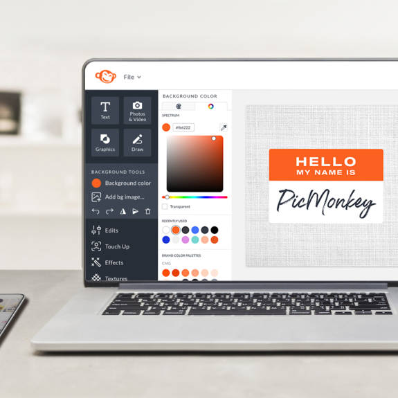 Picmonkey webinar design