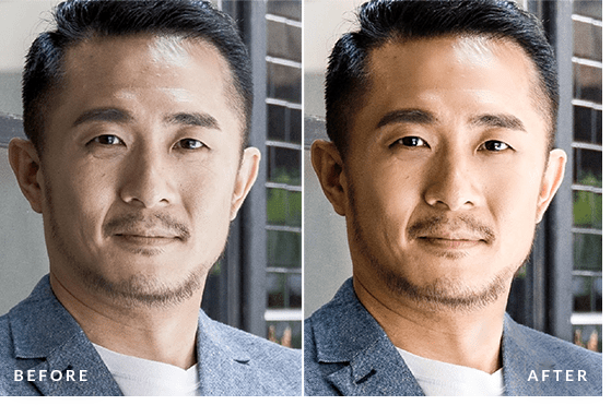 Powerful touch-up tools for natural photo retouching