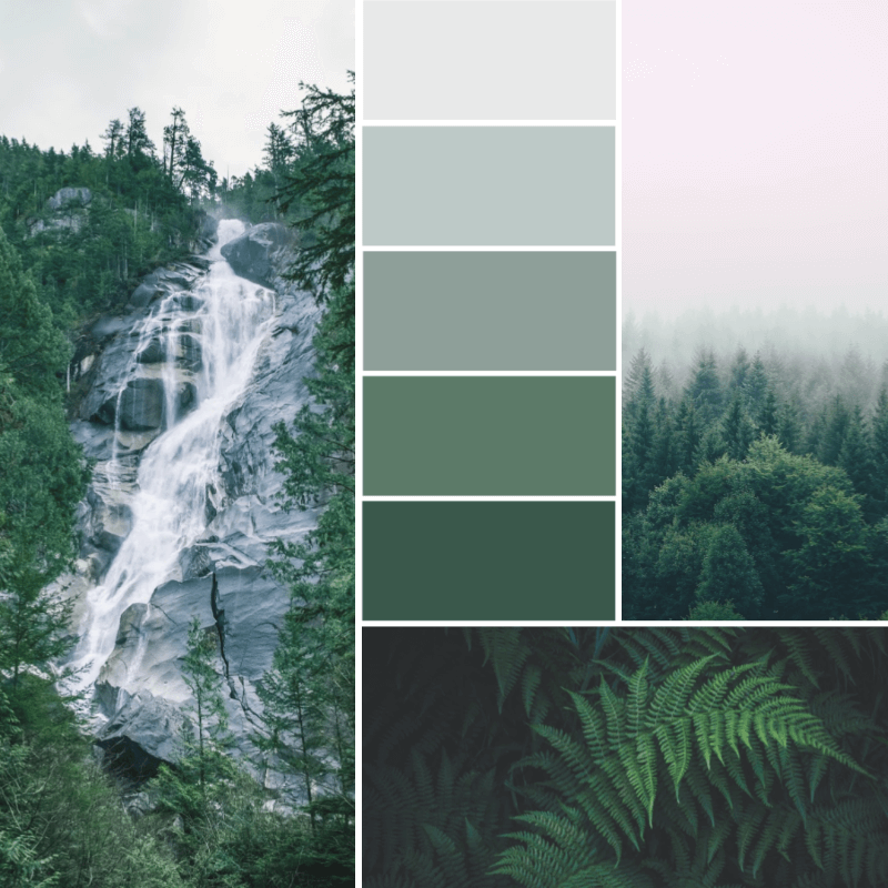 Make a color palette from an image