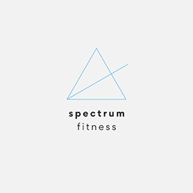 PicMonkey logo design template for fitness brand or business