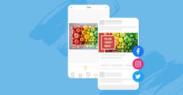 Crop photos and videos fast for social sharing in all the right social media sizes