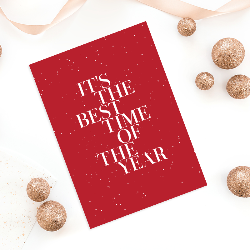 what to write in a business christmas card