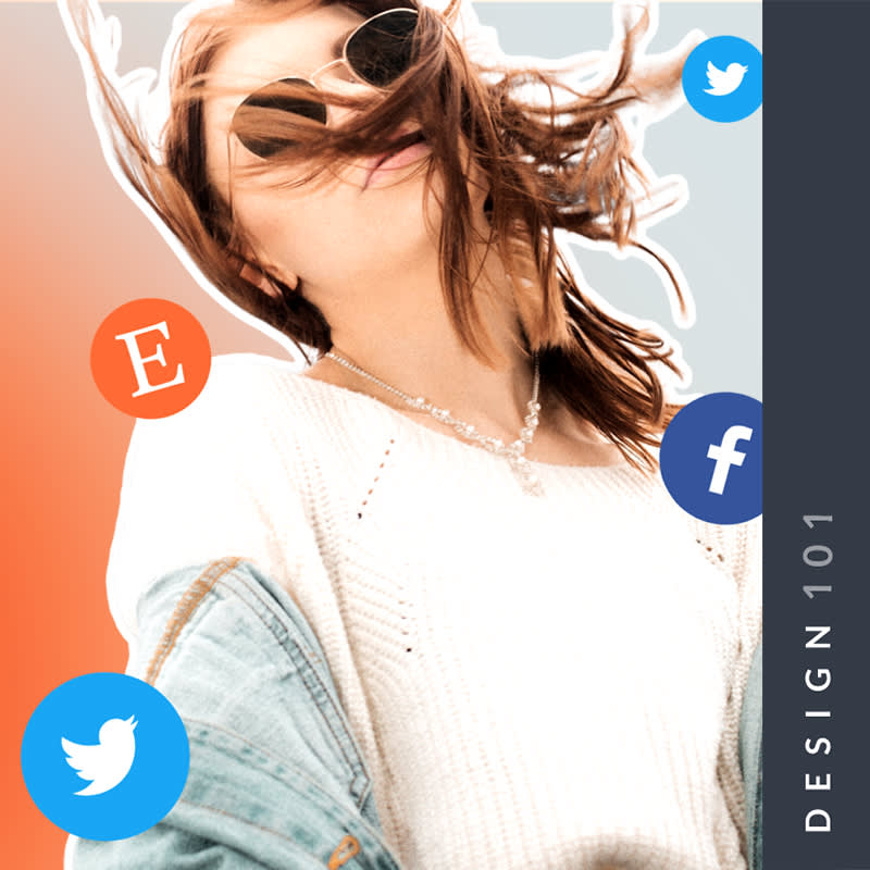 make social media covers with brand kit and smart resize in picmonkey