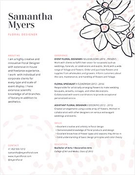 sam-myers-resume-template