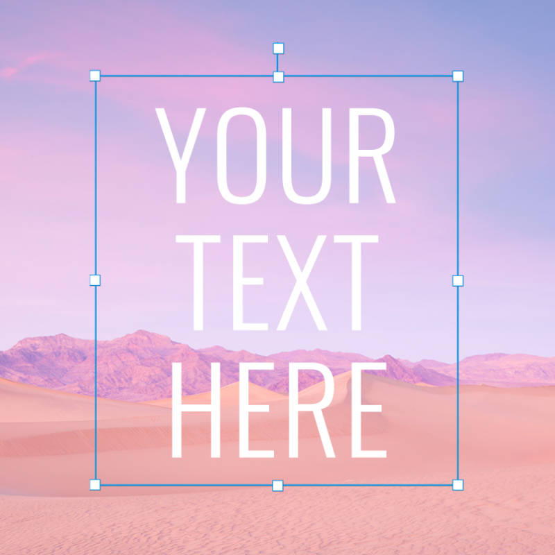 How to add text to photos
