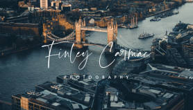 london photography business card